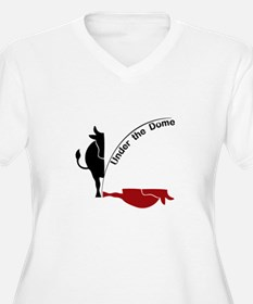 Under the Dome Cow Plus Size T-Shirt