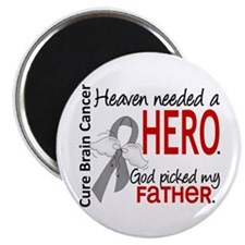 Brain Cancer Heaven Needed Hero 1.1 Magnet