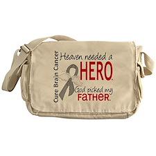 Brain Cancer Heaven Needed Hero 1.1 Messenger Bag