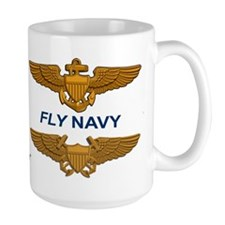 A-6 Intruder Va-128 Golden Intruders Large Mugs
