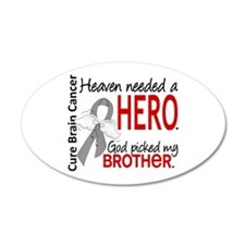 Brain Cancer Heaven Needed H Wall Decal