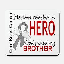 Brain Cancer Heaven Needed Hero 1.1 Mousepad