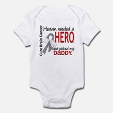 Brain Cancer Heaven Needed Hero 1. Infant Bodysuit