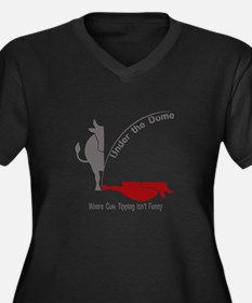 Under the Dome Cow Tipping Plus Size T-Shirt