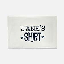 Jane Rectangle Magnet