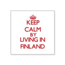 Keep Calm by living in Finland Sticker