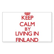 Keep Calm by living in Finland Decal
