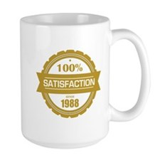 Satisfaction since 1988 Mugs