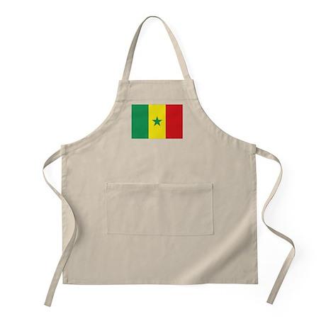 Flag Senegal BBQ Apron