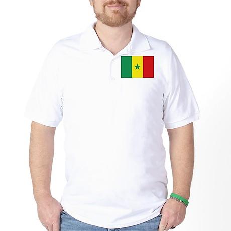 Flag Senegal Golf Shirt