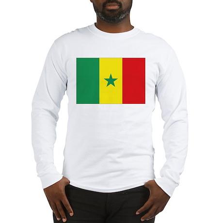 Flag Senegal Long Sleeve T-Shirt