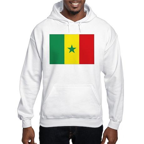 Flag Senegal Hooded Sweatshirt