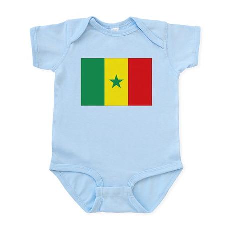 Flag Senegal Infant Bodysuit