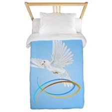 The Dove Of Peace Twin Duvet