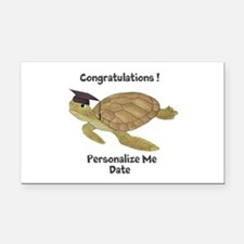 Personalized Sea Turtles Rectangle Car Magnet