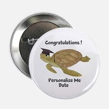 """Personalized Sea Turtles 2.25"""" Button (10 pack)"""