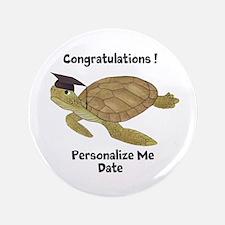 "Personalized Sea Turtles 3.5"" Button"