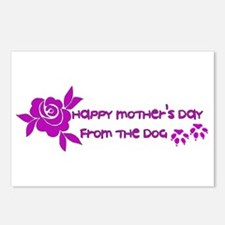 Happy Mother's Day From T Postcards (Package of 8)