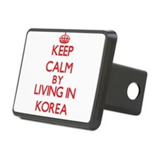 Keep Calm by living in Korea Hitch Cover