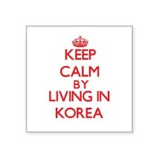 Keep Calm by living in Korea Sticker
