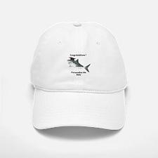Graduation Shark Baseball Baseball Cap