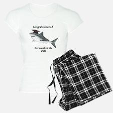Graduation Shark Pajamas