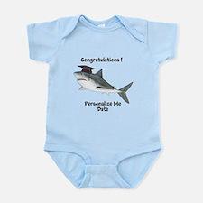 Graduation Shark Infant Bodysuit
