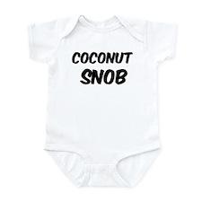Coconut Infant Bodysuit
