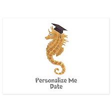 Graduation Seahorse Invitations