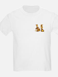 Blown Gold M (pkt) Kids T-Shirt