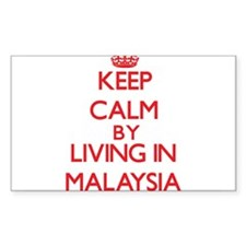 Keep Calm by living in Malaysia Decal