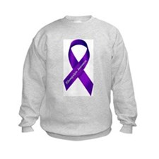 Fibro Awareness Ribbon Sweatshirt