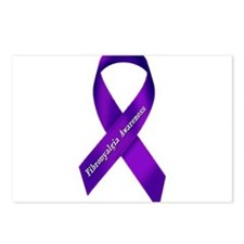 Fibro Awareness Ribbon Postcards (Package of 8)
