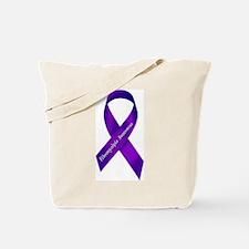 Fibro Awareness Ribbon Tote Bag