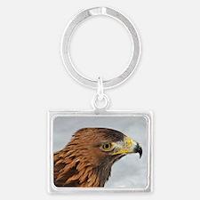 Golden Eagle Landscape Keychain