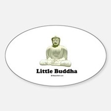 Little Buddha / Baby Humor Oval Decal