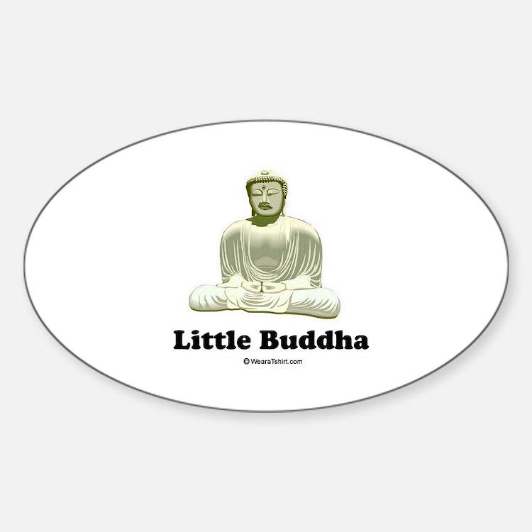 Little Buddha / Baby Humor Oval Decal