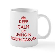 Keep Calm by living in North Dakota Mugs