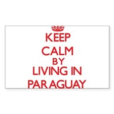 Keep Calm by living in Paraguay Decal