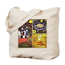 Klee Collage Tote Bag