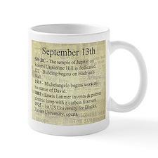 September 13th Mugs