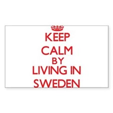 Keep Calm by living in Sweden Decal