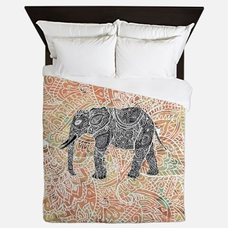 Tribal Paisley Elephant