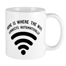 Home is where the wifi Mug