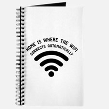 Home is where the wifi Journal