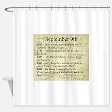 September 9th Shower Curtain