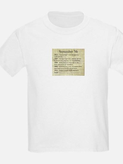 September 7th T-Shirt