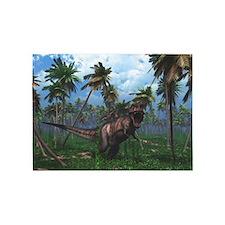 Tyrannosaurus 3 5'x7'Area Rug