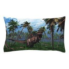 Tyrannosaurus 3 Pillow Case