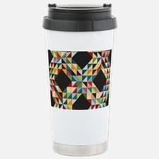Quilt Patchwork Travel Mug
